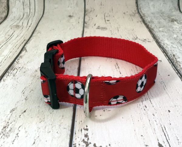 Football Handmade Dog Collar