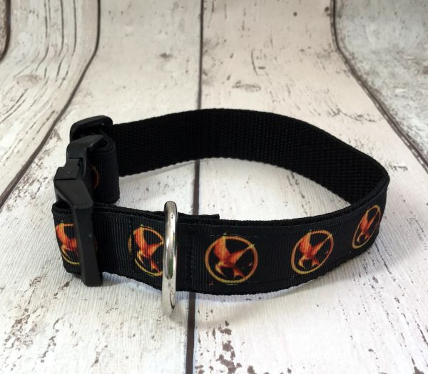 Hunger Games Handmade Dog Collar