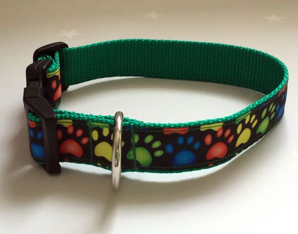 Colourful Paws Handmade Dog Collar