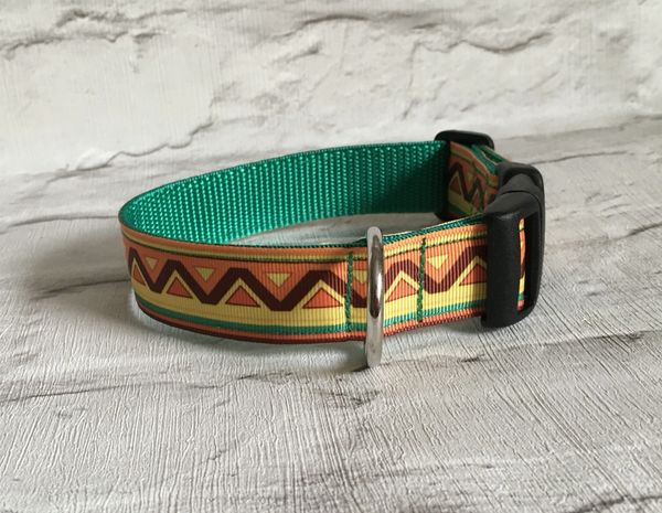 Handmade Dog Collar Mexican Style