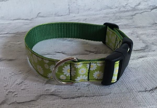 Handmade Daisy Dog Collar