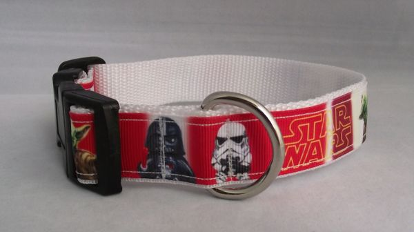 Handmade Star Wars Dog Collar