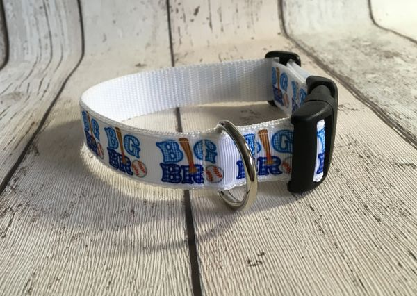 Big Brother Handmade Dog Collar