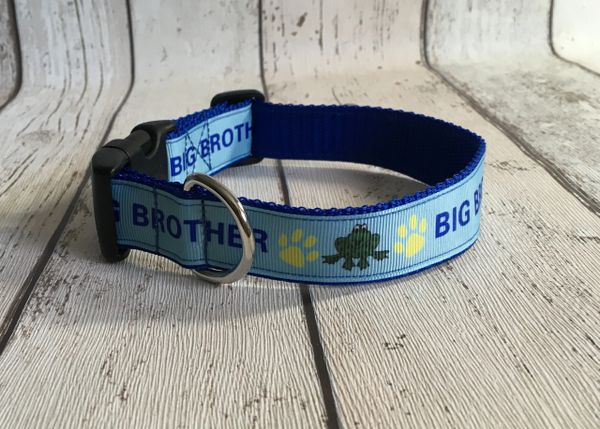 Big Brother Style 2 Handmade Dog Collar