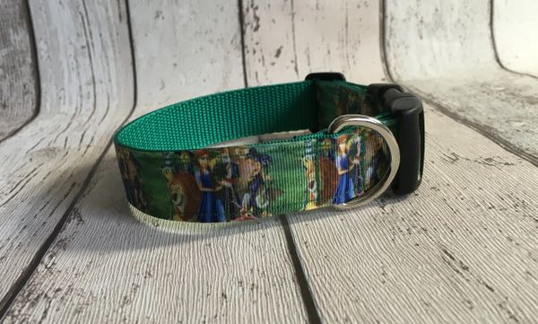 Wizard of Oz Style Handmade Dog Collar