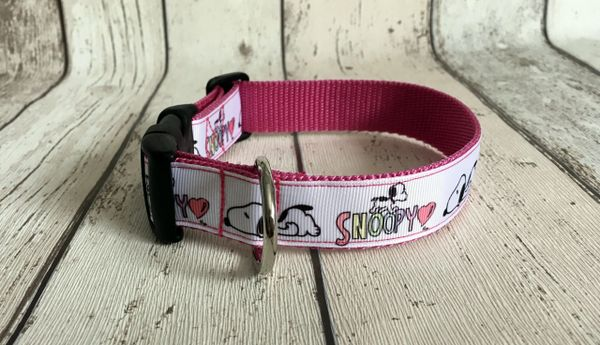 Snoopy Dog Style 3 Handmade Dog Collar