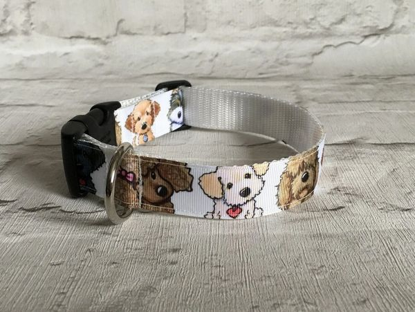 Cute Doggies Handmade Dog Collar