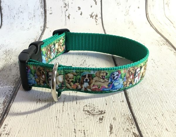 Cute Dogs Handmade Dog Collar
