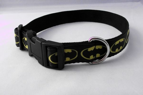 Handmade Batman Dog Collar