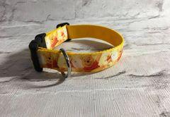 Handmade Pooh Bear Style 2 Dog Collar