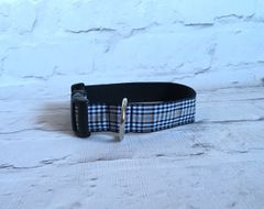 Burns Tartan Dog Collar Handmade Plaid