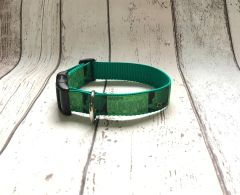 Handmade Happy St Patrick's Day Style 2 Dog Collar.