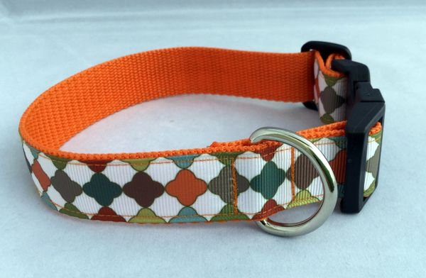 Handmade Retro Pattern Dog Collar