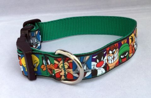 Handmade Cartoon Character Dog Collar