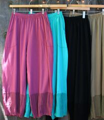 Gauze Trim Pant -- more colors