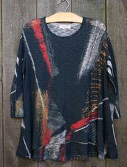 Jess & Jane Gilded Lightweight Sweater Tunic