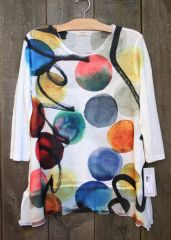 Jess & Jane Confetti Tunic -- LAST ONE!