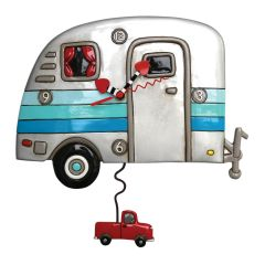 Allen Designs Happy Camper Clock