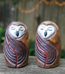 Mountain Gal Owls Salt-n-Pepper Shakers