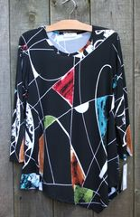 Jess & Jane Curious Travel Tunic -- LAST ONE!