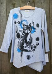 Jess & Jane Rain Cat Tunic -- LAST ONE!