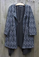 Bella Blue City Coat -- LAST ONE!