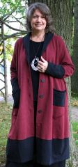 Cheyenne Wine/Black Coat