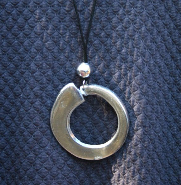 Artisan Circle Necklace