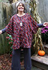 Spirited Away Chenille Knit Poncho