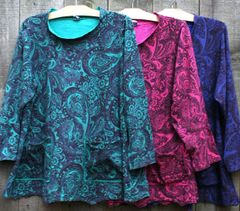 Holiday Faerie Pocket Top