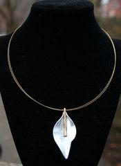 Origins Silver Leaf Necklace