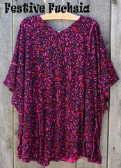 Stained Glass Modal Poncho