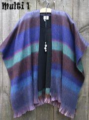 Alpaca Ruana -- more colors