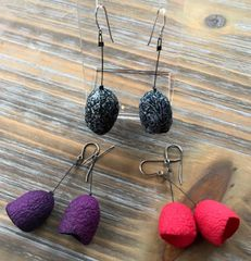 Silk Pod Earrings