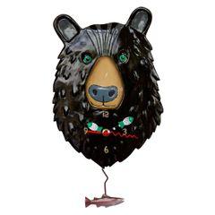 Allen Designs Burly Bear Clock