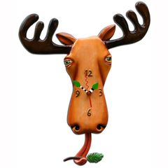 Allen Designs Moose Lee Clock