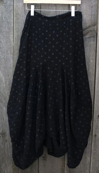 Luca Vanucci Dot Skirt - Size XL -- LAST ONE!
