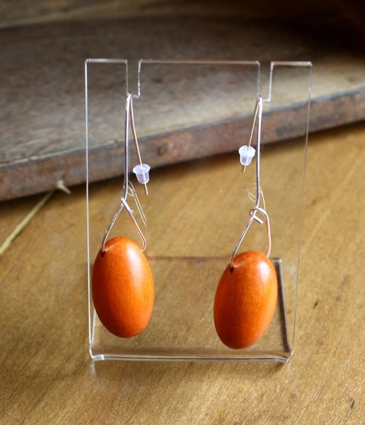 Sylca Oval Ovi Earrings