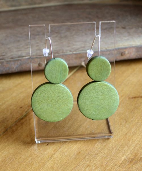 Sylca Double Circle Sarah Earrings