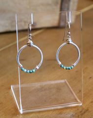 Original Hardware Turquoise Earrings