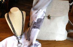 Joy Susan Colette Backpack - Dove Grey