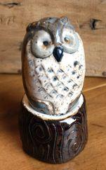Mountain Gal Barn Owl Salt-n-Pepper Shakers