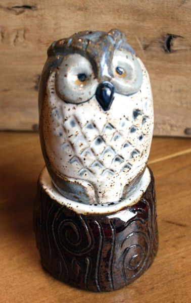 Mountain Gal Barn Owl Salt-n-Pepper Shakers