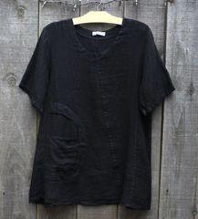 Transparente Black Tunic