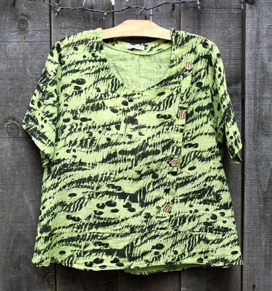 Transparente Lime Top - Size 3 -- LAST ONE!!
