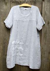 Transparente Lilac Tunic Dress