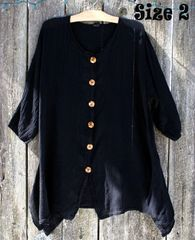 Black Gauze Blouse
