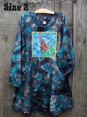 Tie Dye Mermaid Long Sweatshirt