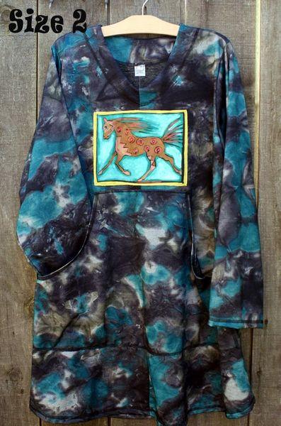 Tie Dye Long Sweatshirt
