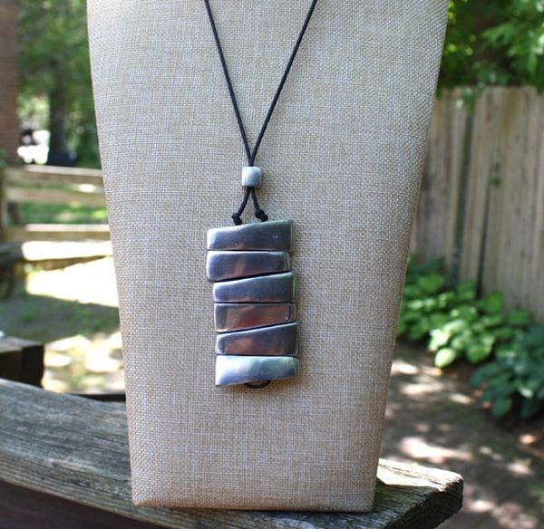 Artisan Stacks Necklace